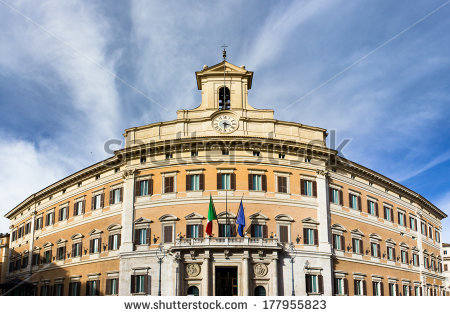 stock-photo-deputies-the-italian-parliament-montecitorio-177955823
